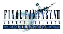 FINAL FANTASY VII ADVENT CHILDREN COMPLETE ロゴ